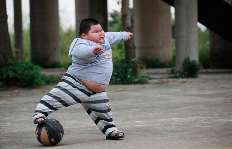 4岁120斤 可爱小胖的幸福生活