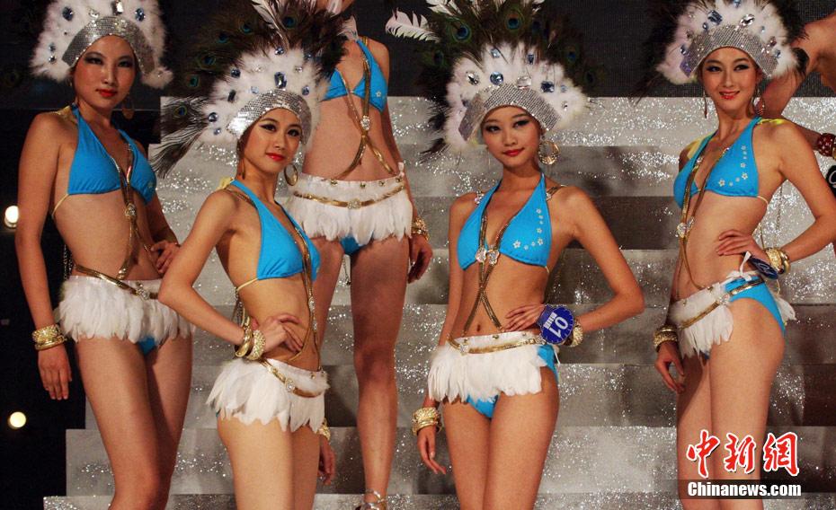 2011新丝路亚洲泳装模特大赛三甲出炉