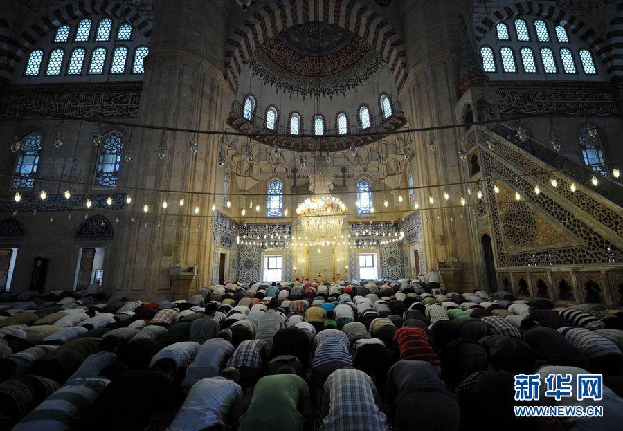 土耳其塞利米耶清真寺 中新网