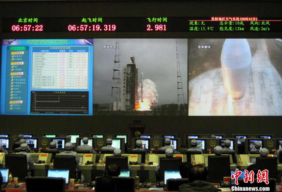 """中国成功发射""""海洋二号""""卫星"""