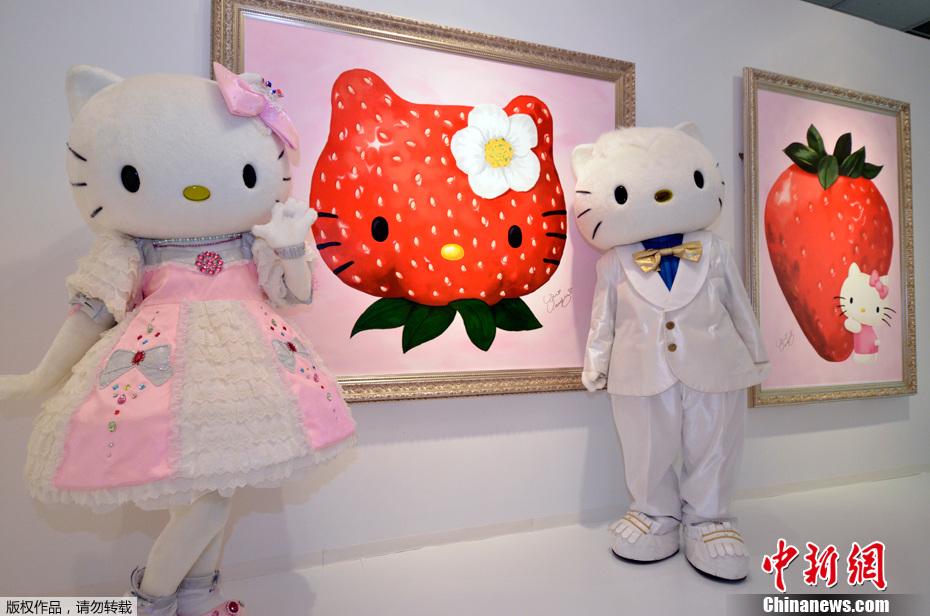 日本东京举办HELLO KITTY展览