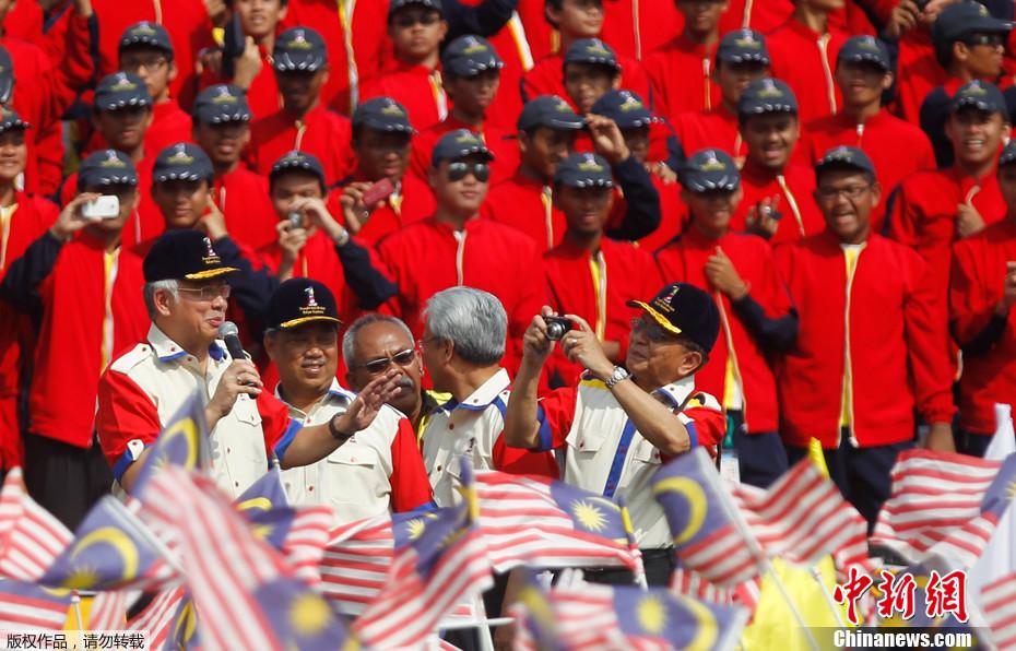 (图)马来西亚举行阅兵式 庆祝独立54周年 - 马来西亚第二家园移民 - 马来西亚第二家园移民计划