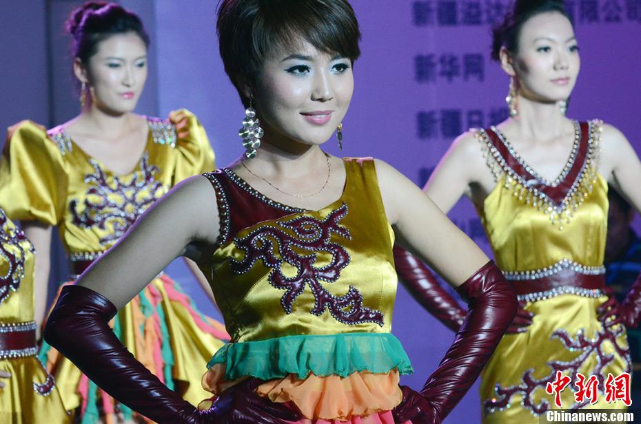 新疆举办首届服装设计师大赛