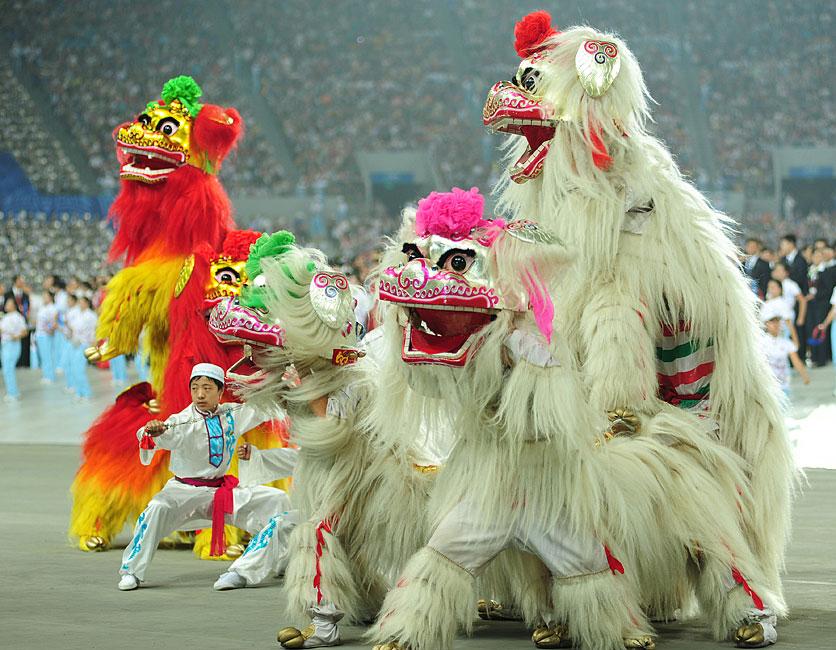 少数民族传统体育图片展--多彩文化 和谐中华