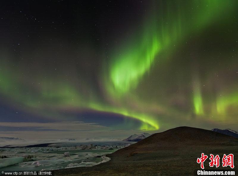 冰岛绝美极光 (1/4)  - 高山松 - gaoshansong.good 的博客