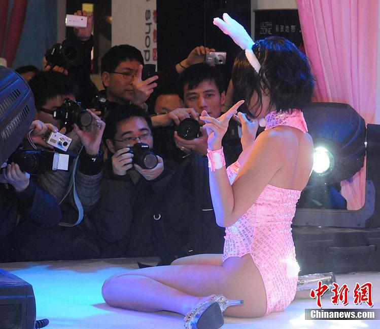 第九届上海国际成人展火辣开展 中新网
