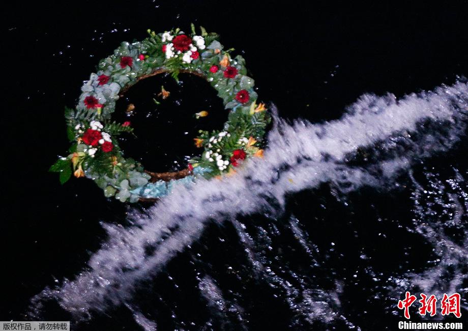 泰坦尼克号沉没地点_泰坦尼克号沉没百年 沉船地点举行纪念仪式-中新网