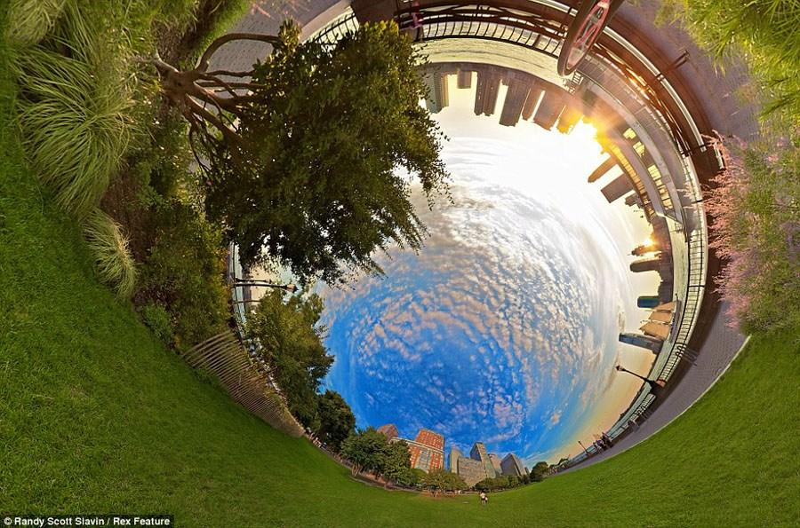 360度全景透视美图 晕眩你的视觉