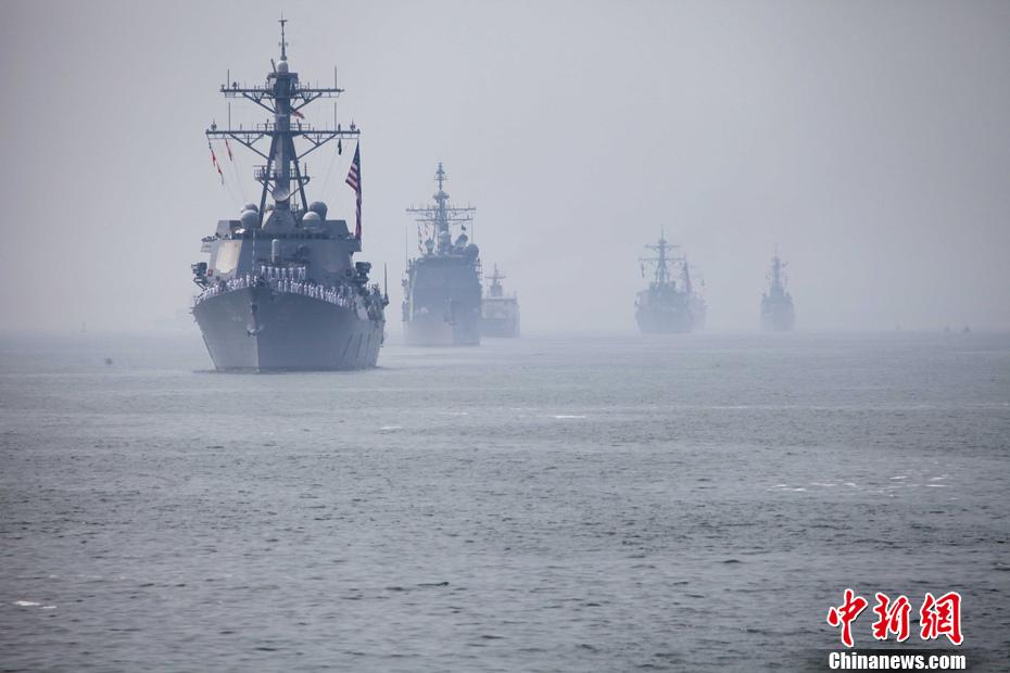 2012纽约舰队周拉开帷幕