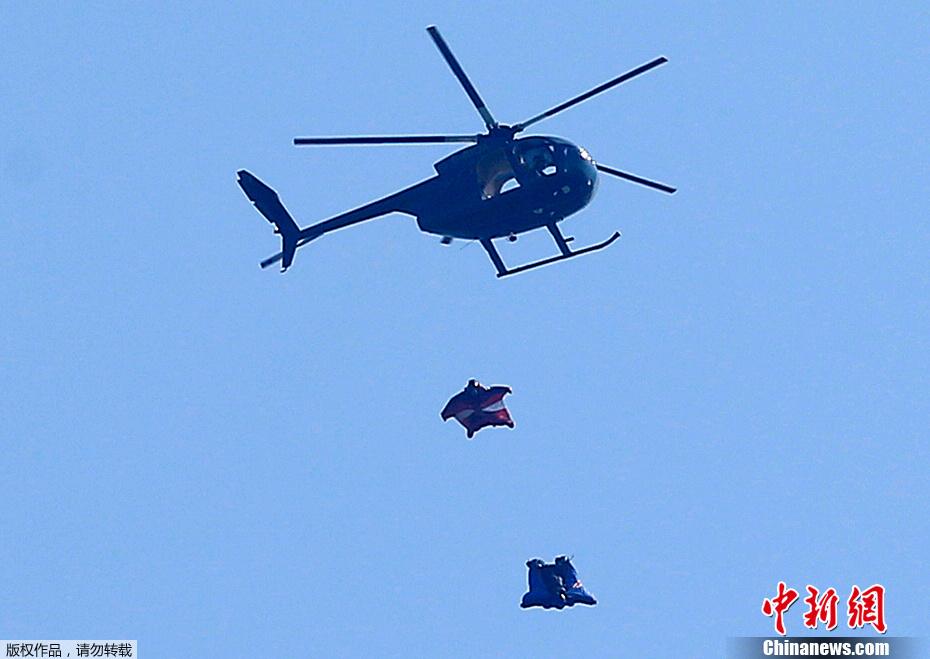 英男子730米高空跳下安全落地 未用降落伞