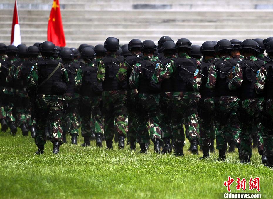 中国 印度尼西亚/中国和印尼反恐联合训练顺利结束