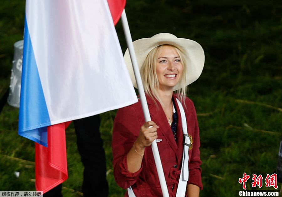 2012夏季奥运会开幕式女旗手风采