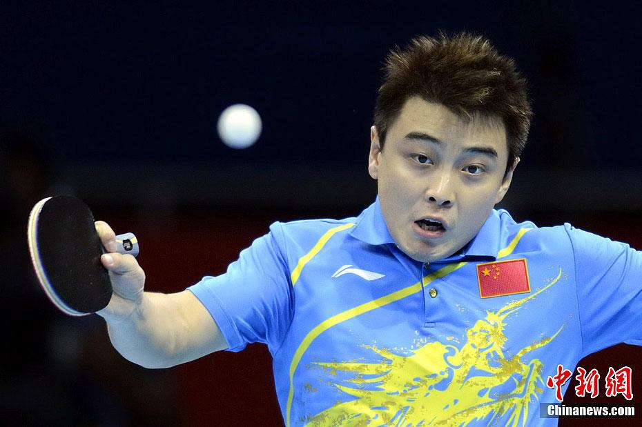 奥运乒乓球男单决赛 张继科4 1胜王皓