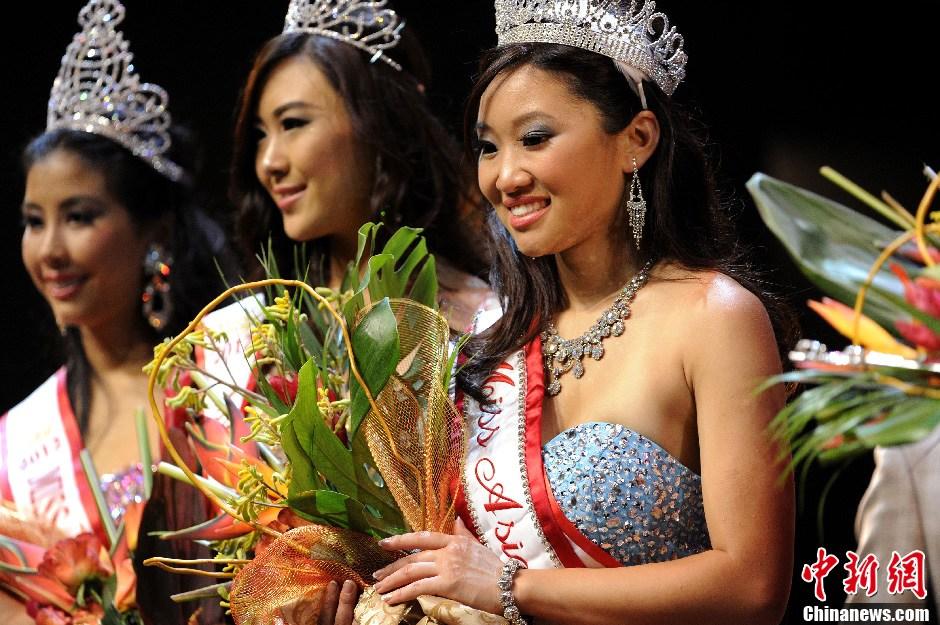 19岁韩裔大学生当选国际亚裔小姐