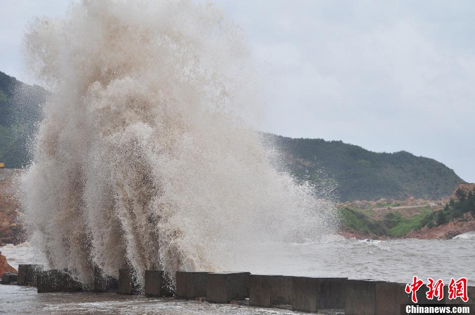 浙江省气象台发布台风红色预警