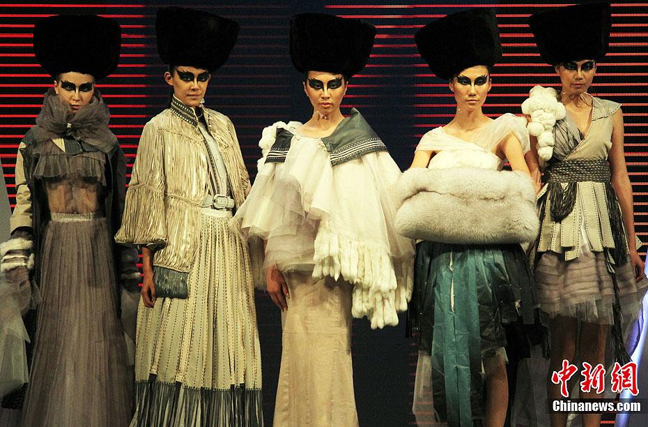 中国国际皮革,裘皮服装设计大奖赛精彩纷呈