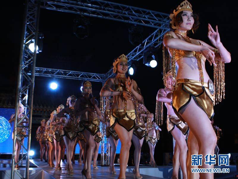蒙古的美女长这样:乌兰巴托模特大赛 中新网