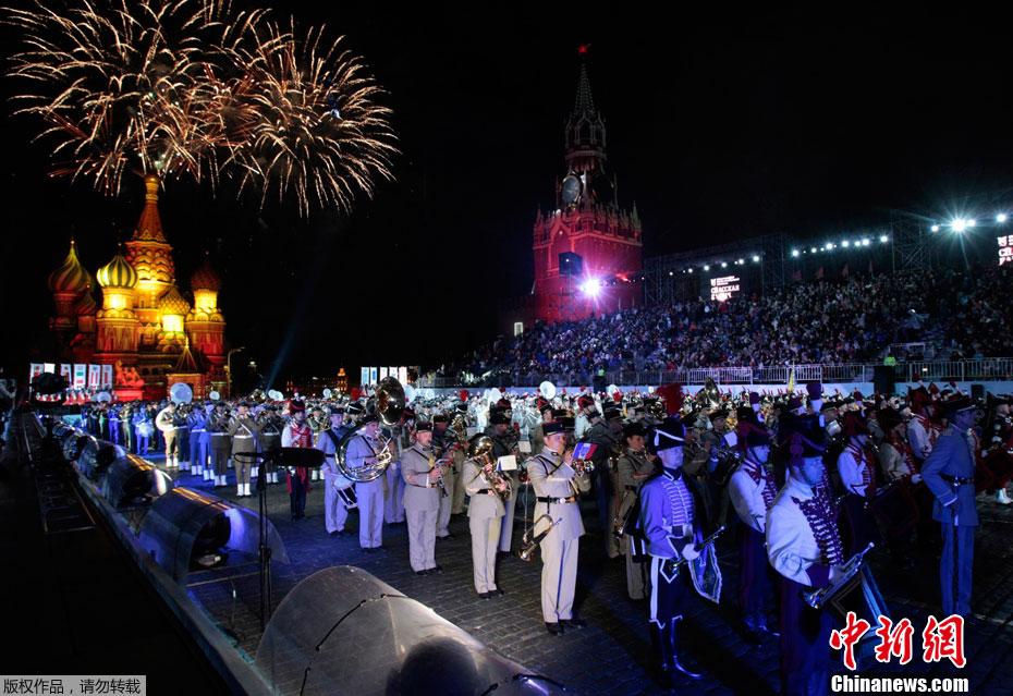 2012国际军事音乐节在莫斯科红场开幕 (1/8)  - 高山松 - gaoshansong.good 的博客