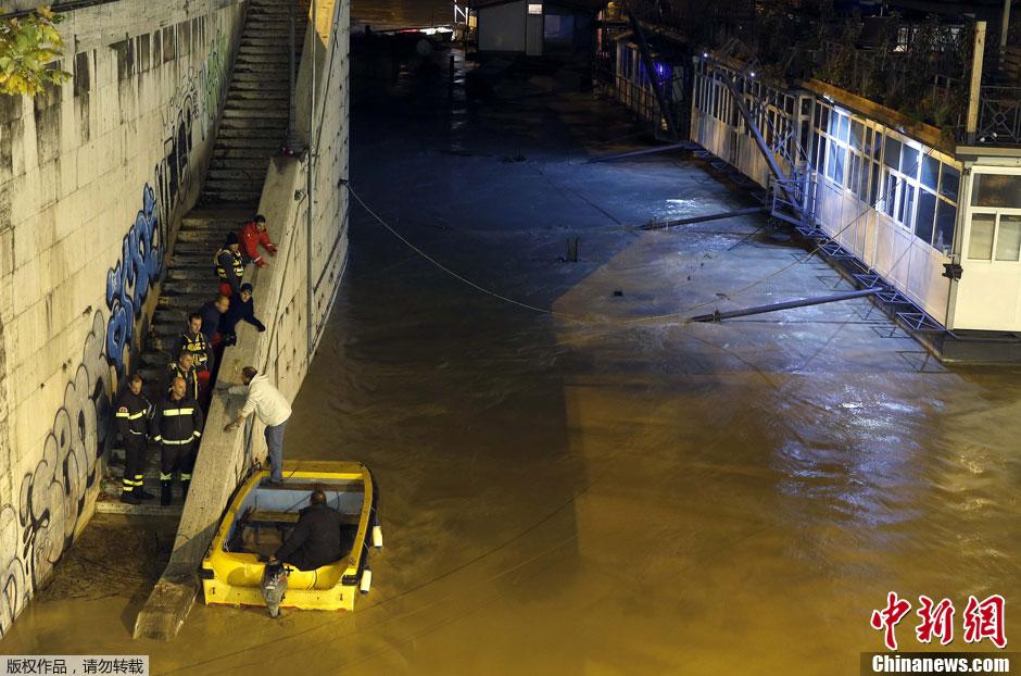 水淹城池_图集贵州威宁暴雨过后水淹城池出行困难今