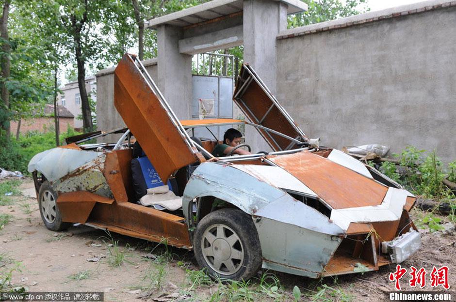 图说2012之最牛的发明——山寨兰博基尼