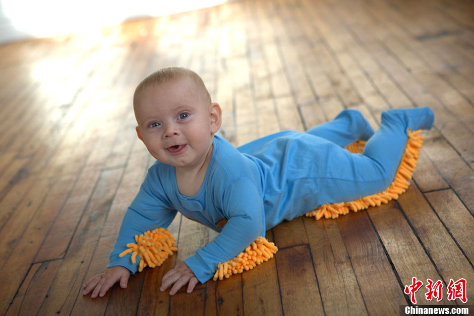 图说2012之最牛的发明——婴儿墩布