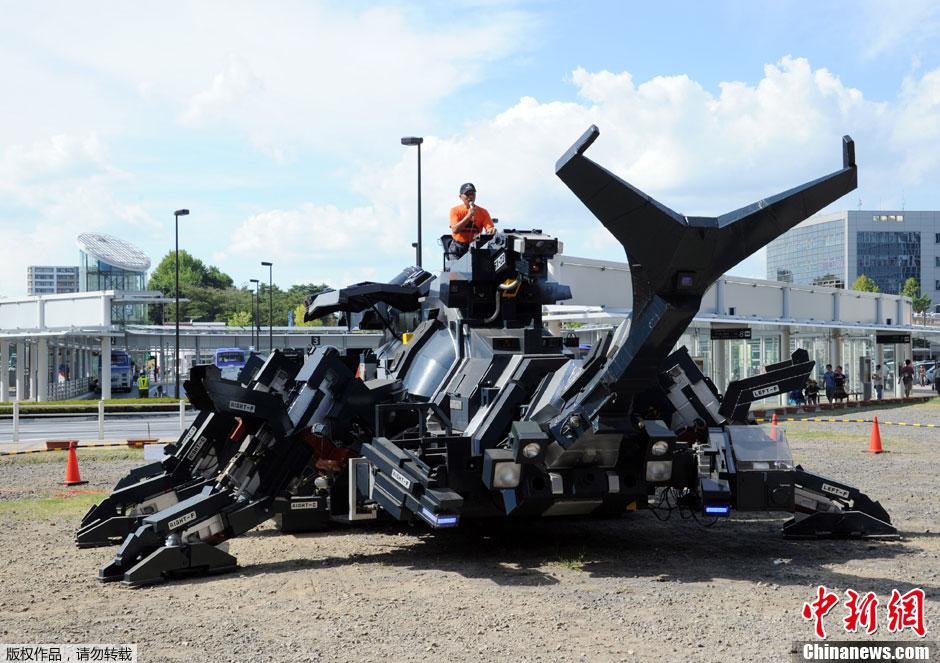 图说2012之最牛的发明——甲虫机器人