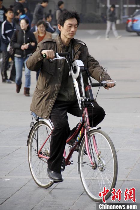 图说2012之最牛的发明——太极自行车