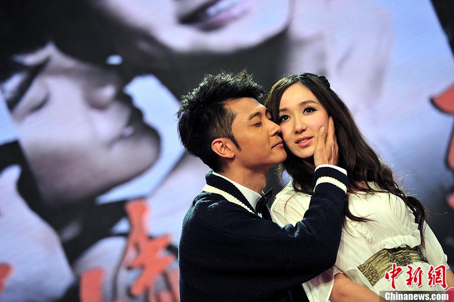 张丹峰、热依扎、陈赫齐聚深圳出席首映礼.该剧将在2月11日晚深图片