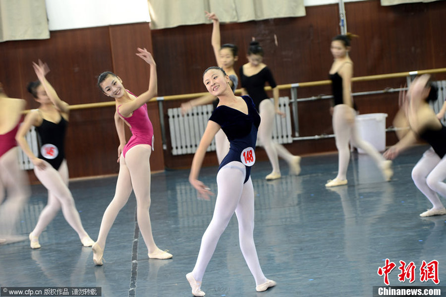 山东舞蹈表演艺考 上场十分钟舞出十年功 中新