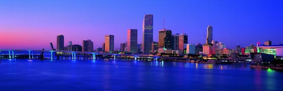 全景都市夜色魅影