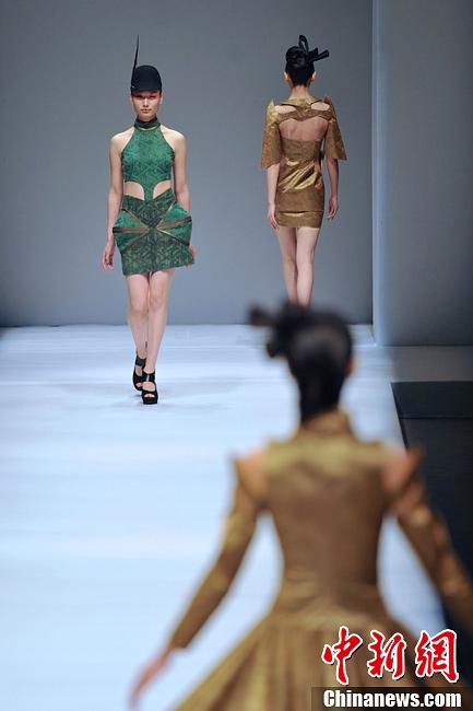 中国国际时装周上演民族大学西部创意之旅