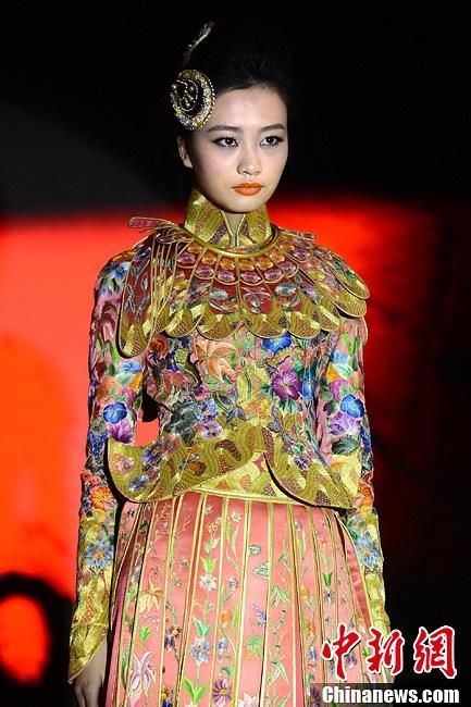 回顾中国服装设计二十年历程 中国时装艺术展启动