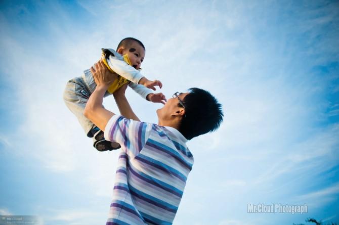影像生活·创意摄影大赛作品展——父与子图片