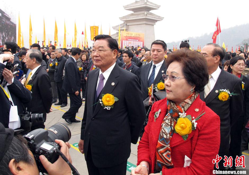 江丙坤出席癸巳年清明公祭轩辕黄帝典礼