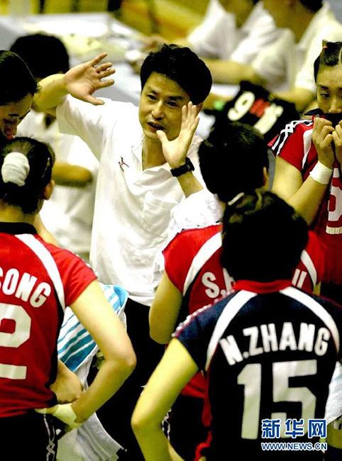盘点中国女排历任主帅:2001-2008 陈忠和