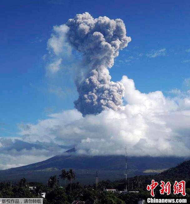 转帖:中新网——马荣火山小规模喷发 - yanzibj - 寻找火山