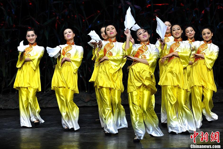 """2013世园会开幕 大型音舞诗画演绎""""锦绣神州"""""""
