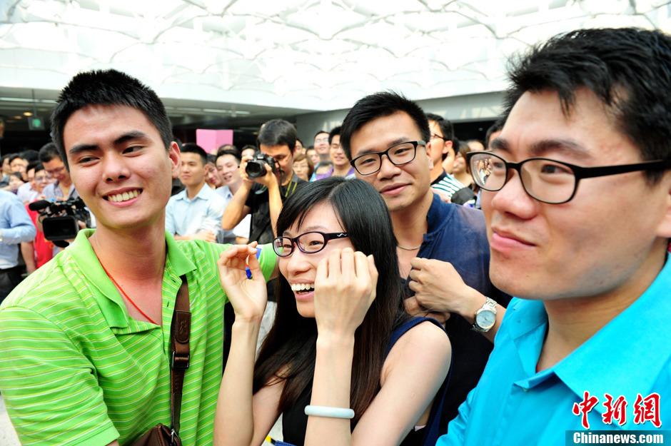 """深圳举办""""幸福地铁 让爱相识""""公益相亲活动"""