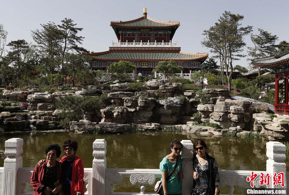 北京园博会北京园再现皇家风范