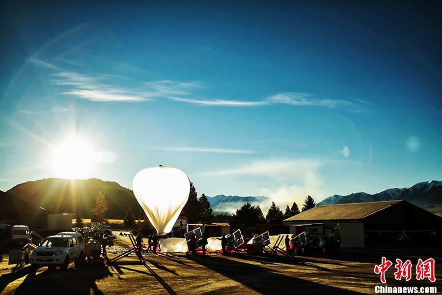 谷歌热气球升空新西兰 为全球偏远地区提供网络