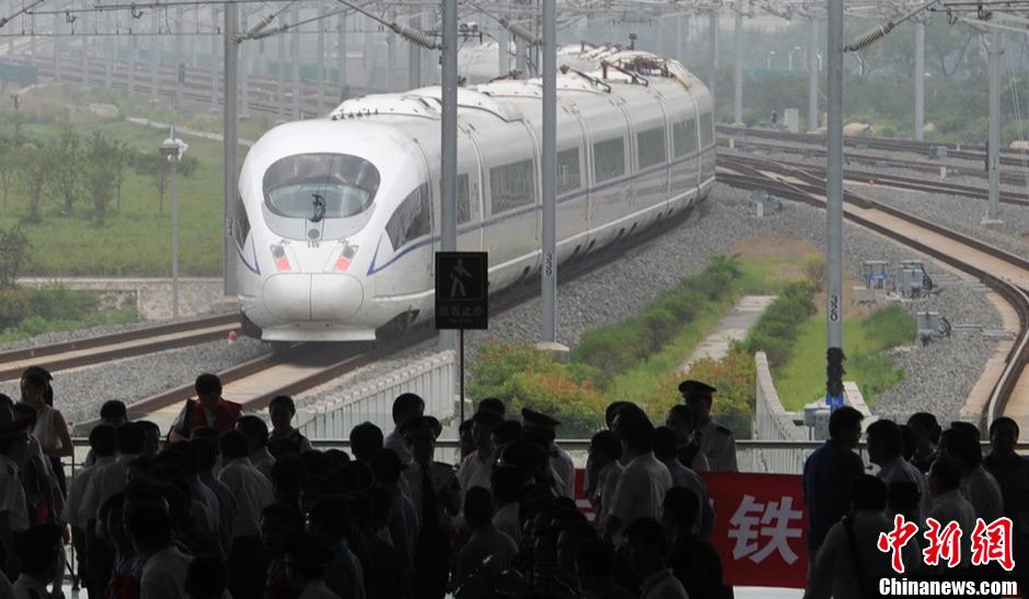 宁杭高铁开通 串联长三角