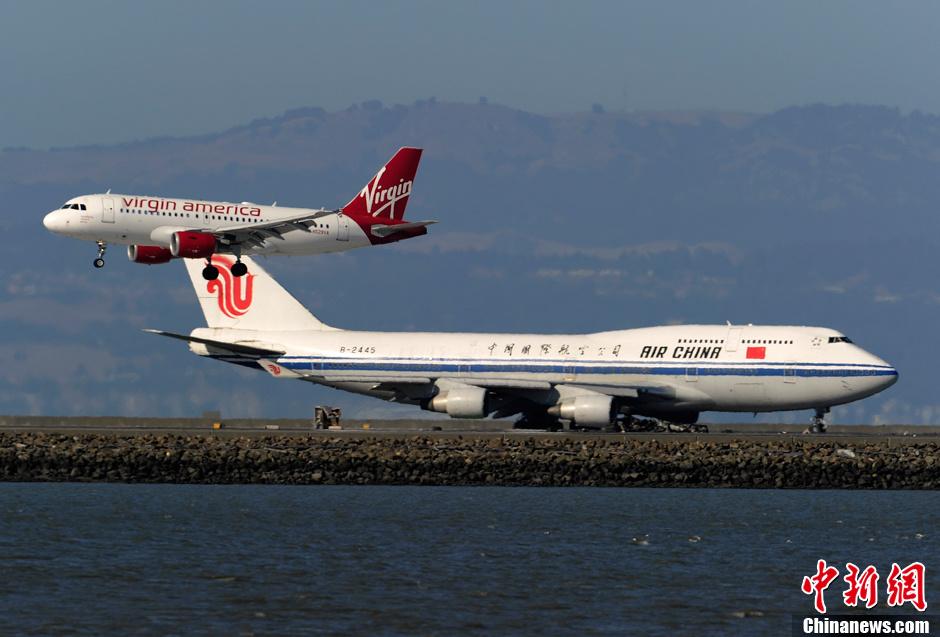 旧金山国际机场恢复国际航班