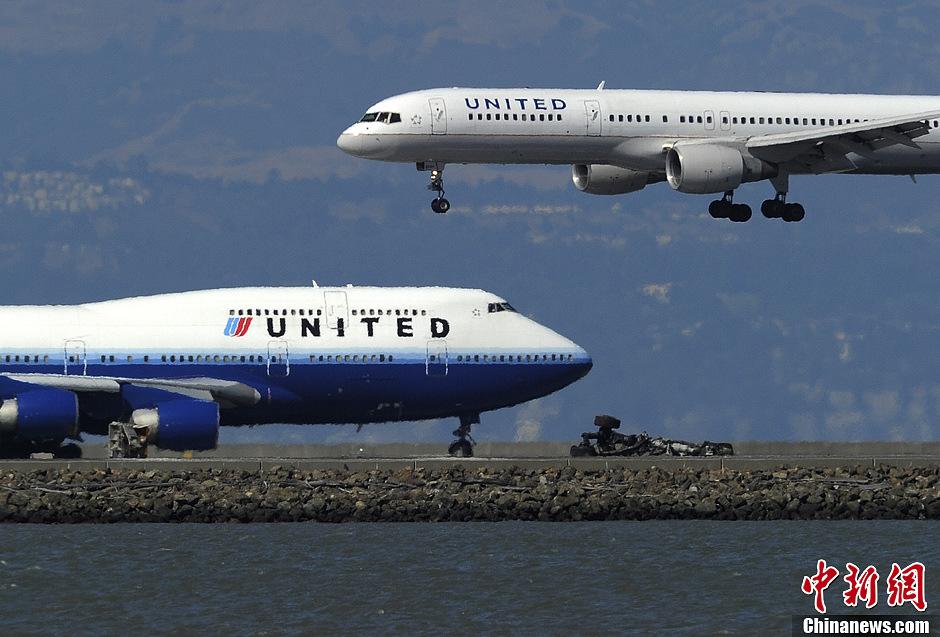 韩亚航空遇难女生父母到达出事地点