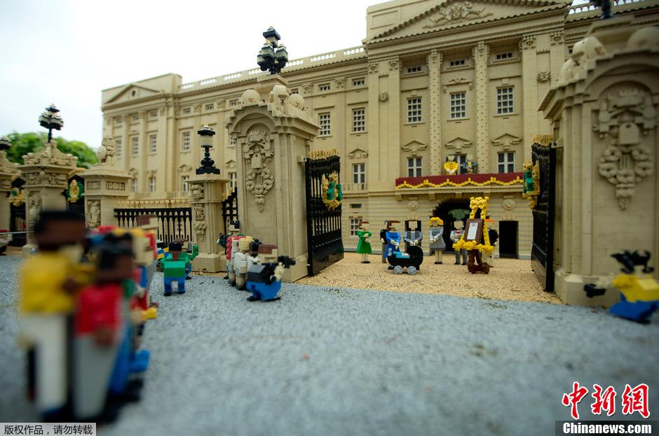 英模型师打造乔治王子乐高居所 全景 展现皇家生活