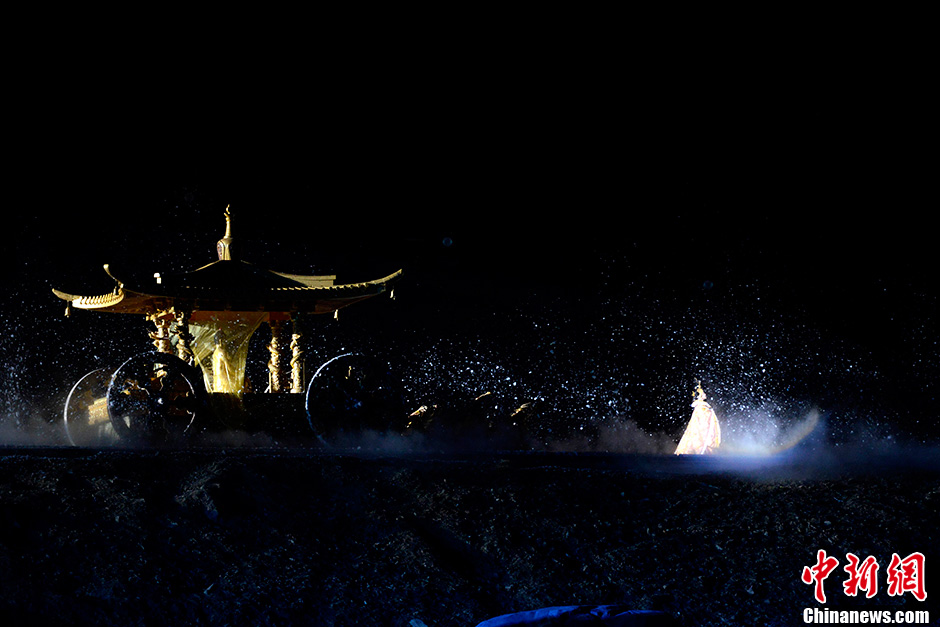 海拔最高的实景剧《文成公主》拉萨首演