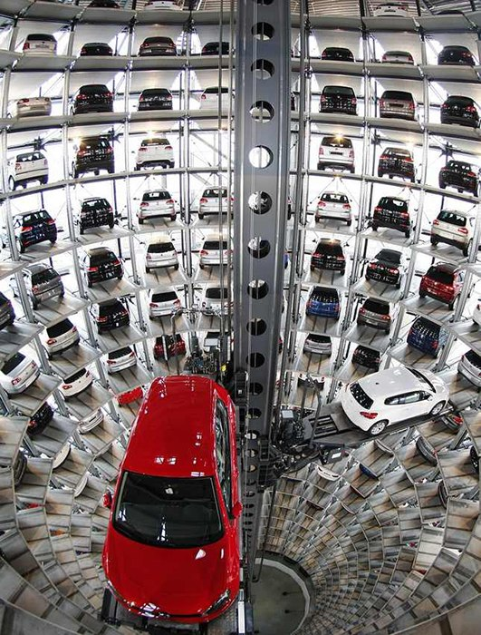 盘点世界10大顶尖停车场