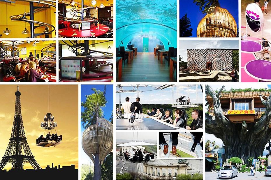 盘点全球十大奇特餐厅