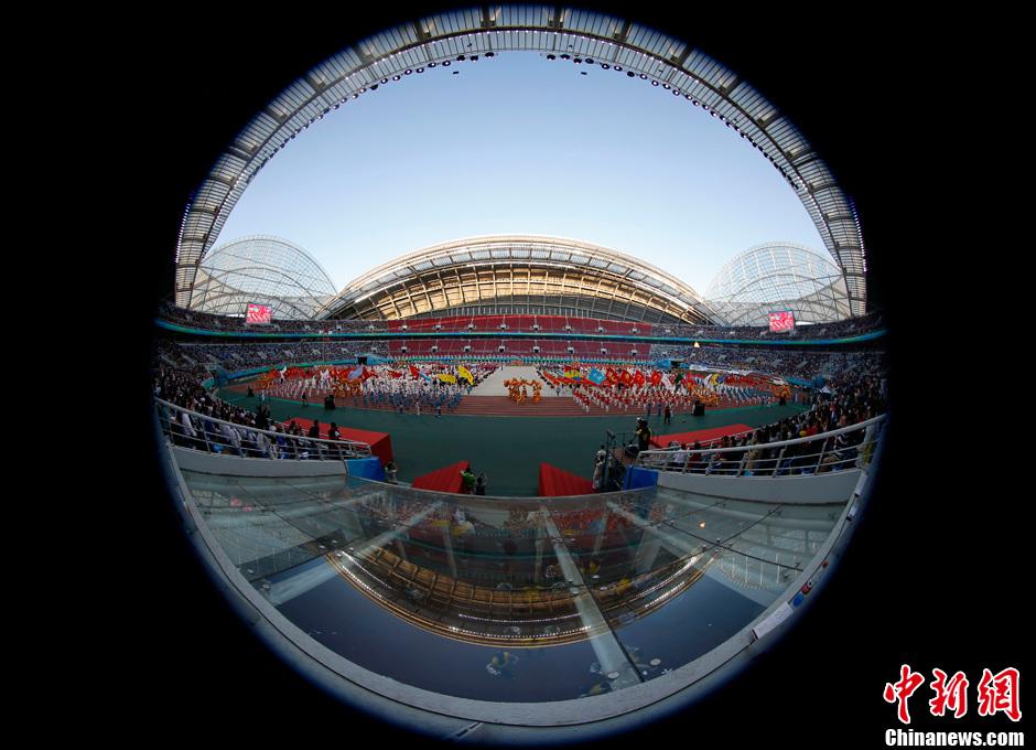 第十二届全运会开幕式全景