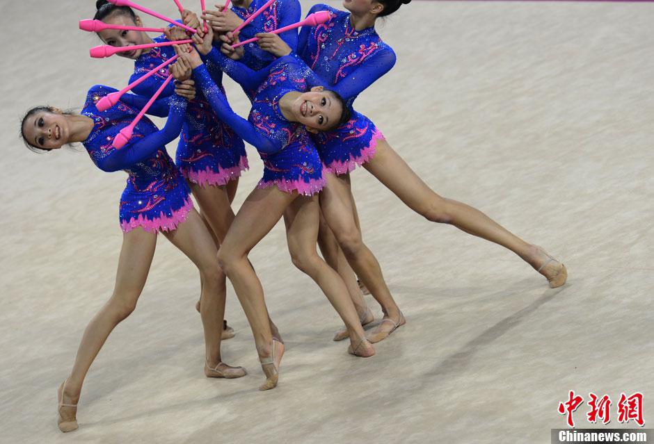 全运会艺术体操团体比赛
