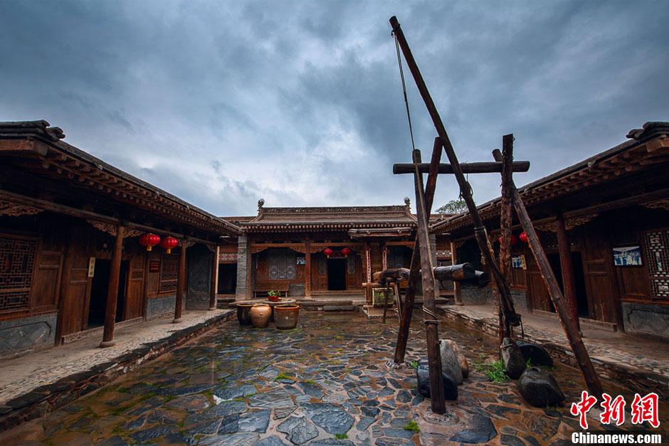 中国历史文化名镇甘肃榆中青城的明清古建筑